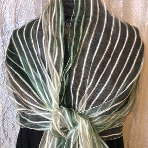 FLEURS silk scarf